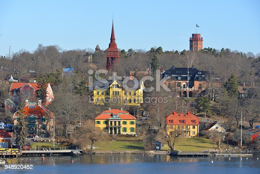 istock View of city from sea 948920452