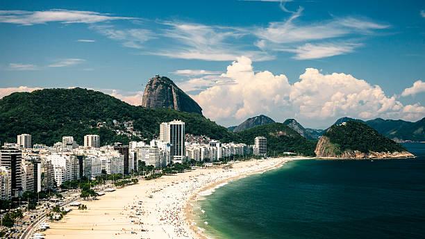 Blick auf Copacabana, Rio De Janeiro, Brasilien – Foto