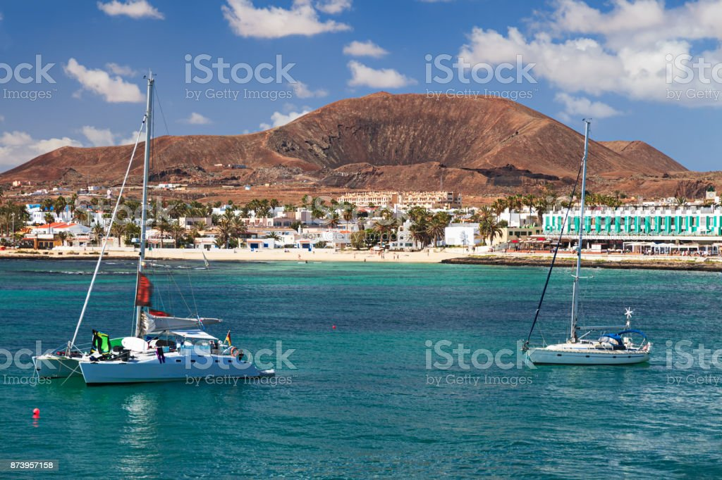 Ansicht von Corralejo, Fuerteventura, Kanarische Inseln – Foto