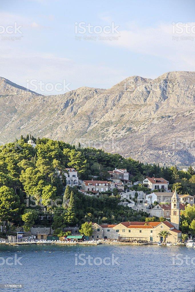View Of Cravat, Croatia stock photo