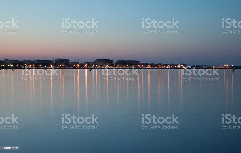 View of Croisette royalty-free stock photo