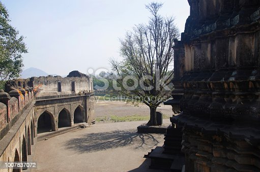 istock View of Dakshin Kashi Mandir. Mahuli Sangam. Satara. Maharashtra. India 1007837072