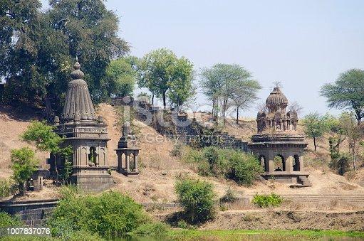 istock View of Dakshin Kashi Mandir. Mahuli Sangam. Satara. Maharashtra. India 1007837076