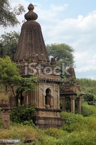 istock View of Dakshin Kashi Mandir. Mahuli Sangam. Satara. Maharashtra. India 1175021682
