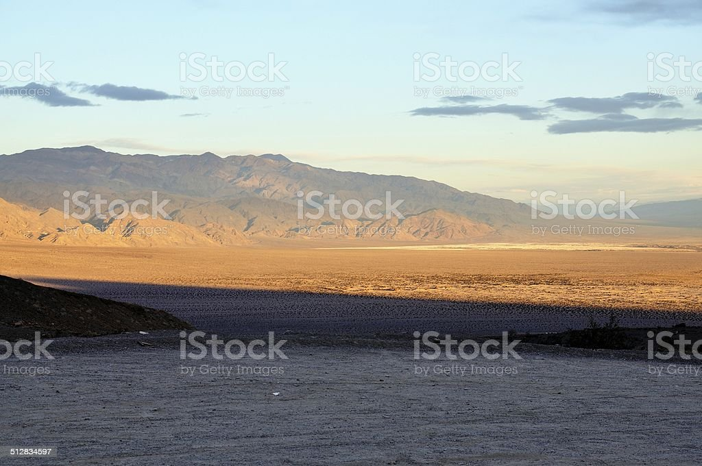 View of Death Valley National Park, California USA stock photo