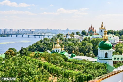 istock A view of Dnieper river in Kiev 465324045