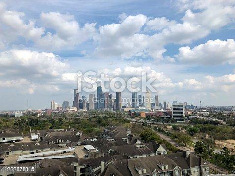 542727462 istock photo View of downtown Houston, Texas, United States skyline 1222878315