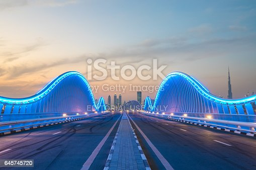 istock View of Dubai Downtown. 645745720