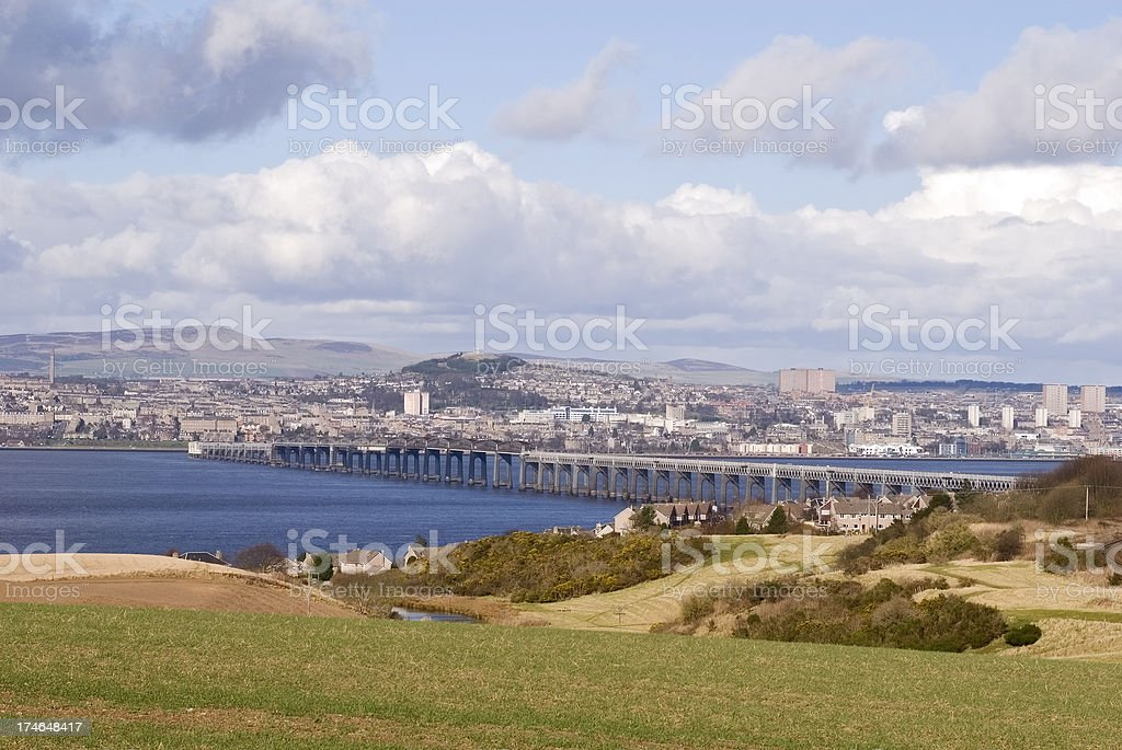 View of Dundee stock photo