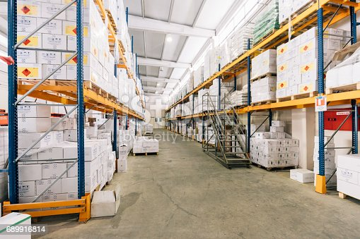 istock View of empty industrial material warehouse 689916814
