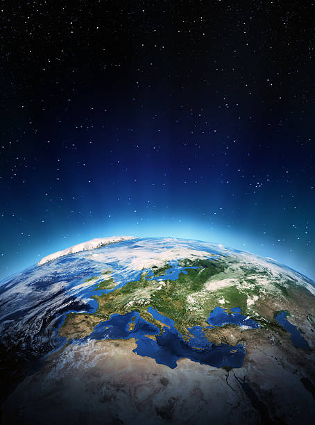 Europa aus Raum – Foto