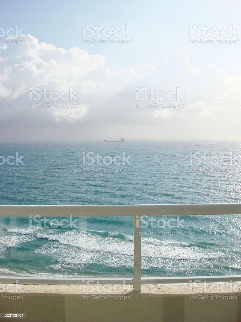 View of Fort Lauderdale, Florida stock photo
