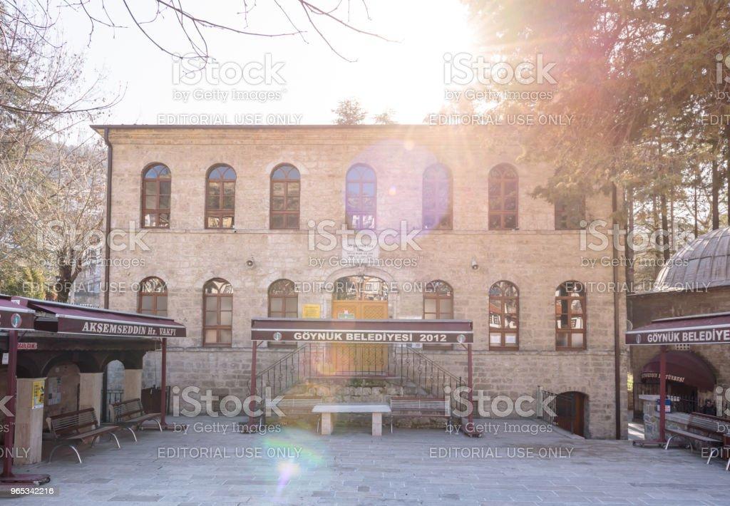 View of  Ghazi Suleyman,Suleiman Pasha Mosque zbiór zdjęć royalty-free