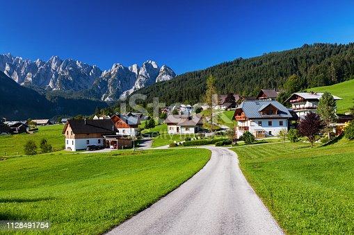 istock View of Gosau valley, Salzkammergut, Austria 1128491754