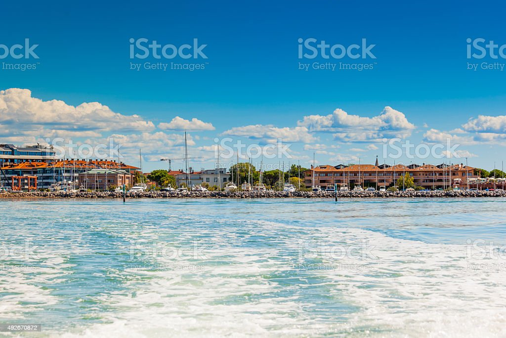View of Grado (Gorizia), Friuli Venezia Giulia, Italy stock photo