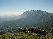 View of Gran Sasso d'Italia