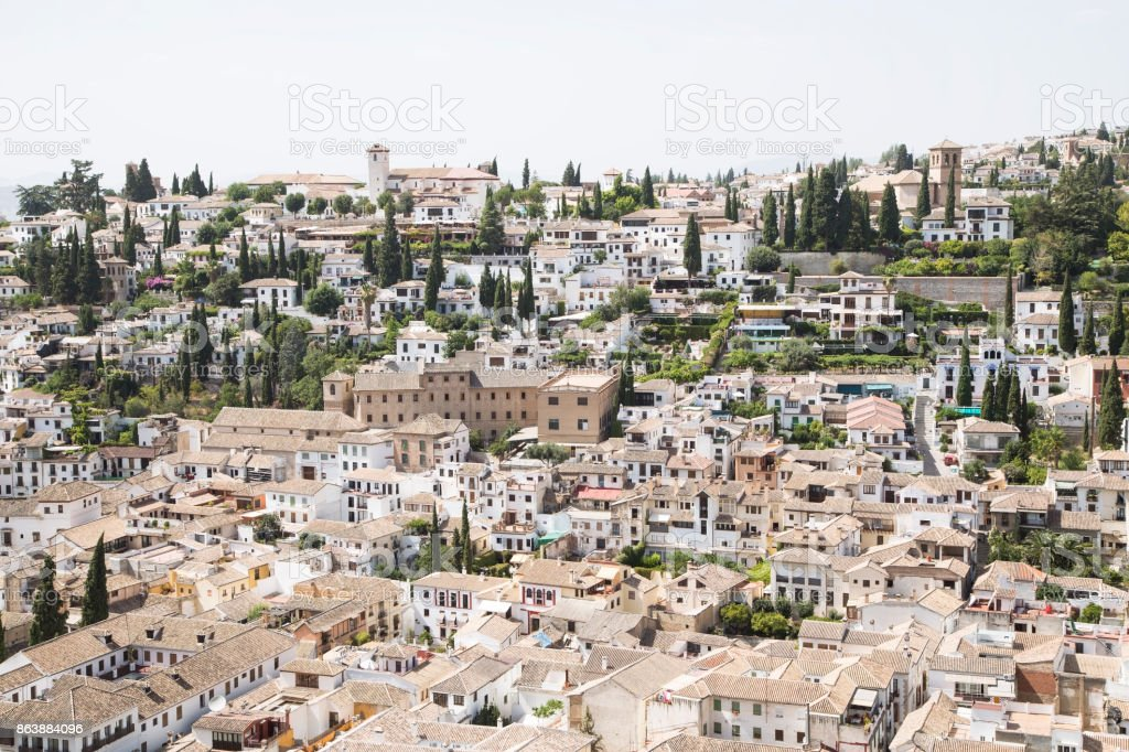 View of Granada stock photo