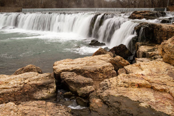 View of Grand Falls in Missouri