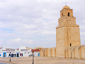 The Great Mosque of Kairouan, also known as the Mosque of Uqba, is a mosque situated in the UNESCO World Heritage town of Kairouan, Tunisia.