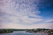 View of Harbor from High Road in Kinsale, Ireland