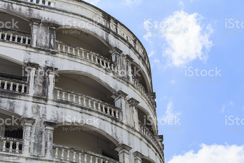 View of hotel facade royalty-free stock photo