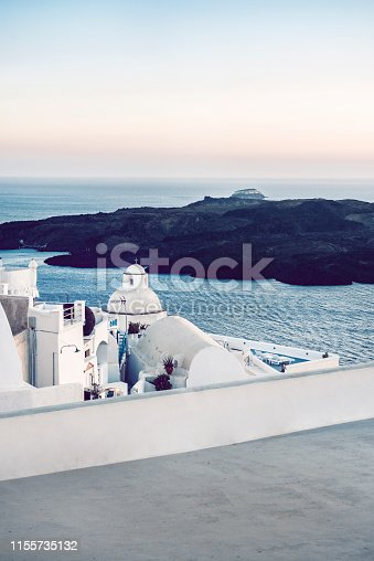 View Of Island Near Santorini In Greece