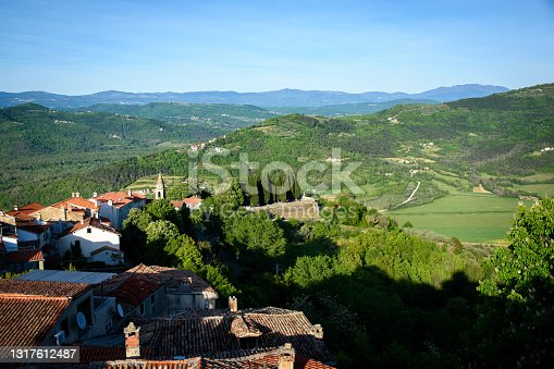 istock A view of Istria from Motovun walls 1317612487