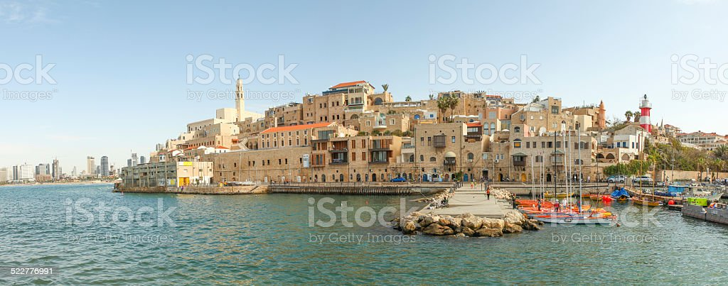 View of Jaffa stock photo