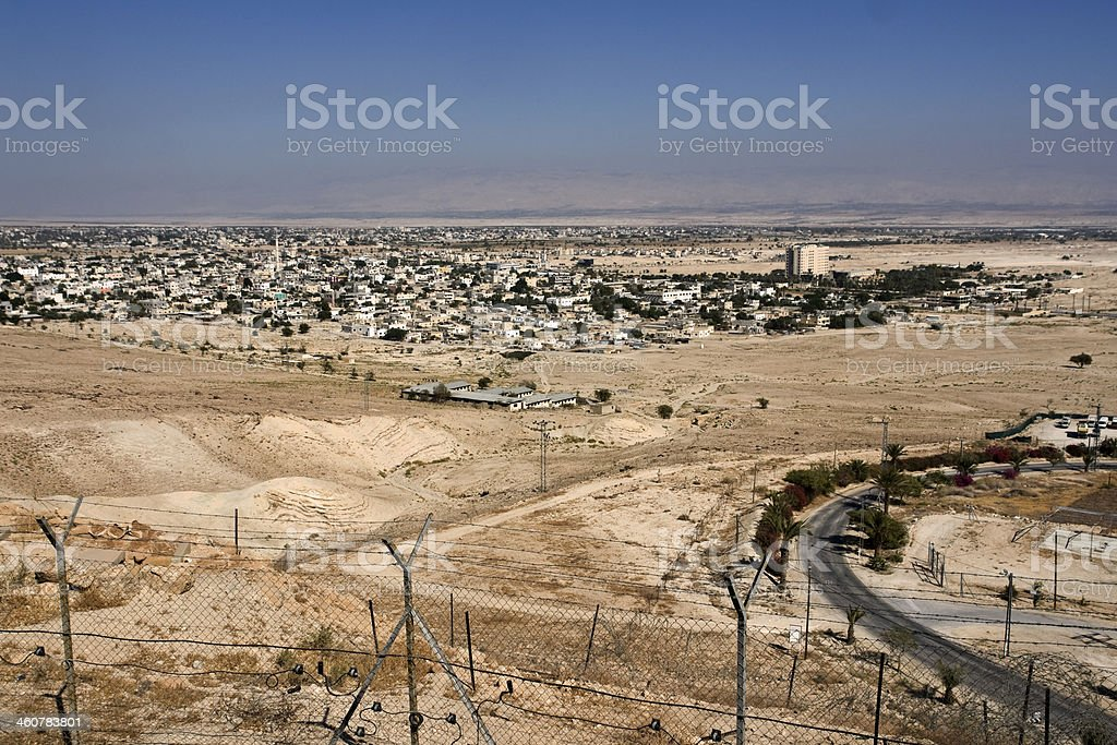 View of Jericho royalty-free stock photo