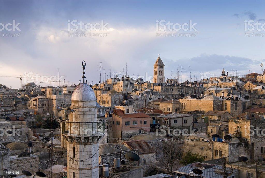 View of Jerusalem royalty-free stock photo