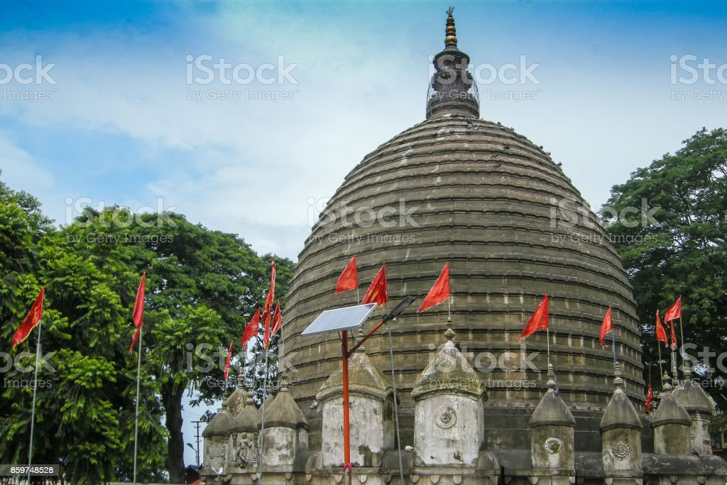 Blick auf Kamakhya Tempel, Guwahati, Assam. – Foto