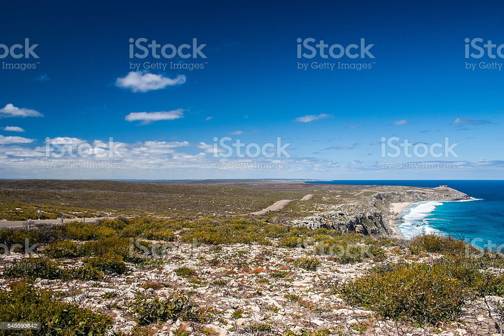 View of Kangaroo Island stock photo