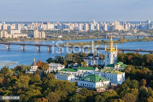 istock View of Kiev Pechersk Lavra and Dnepr river. Kiev, Ukraine. 636634908