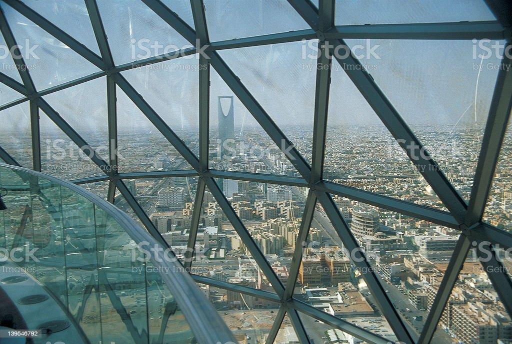 Widok Królestwo Tower, Rijad, Arabia Saudyjska – zdjęcie
