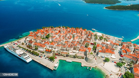 istock View of Korcula town on Korcula island 1094608256