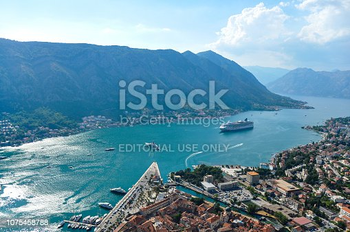 istock View of Kotor city from the mountain 1075458788