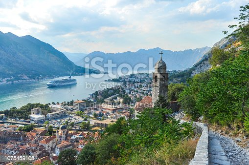 istock View of Kotor city from the mountain 1075459108