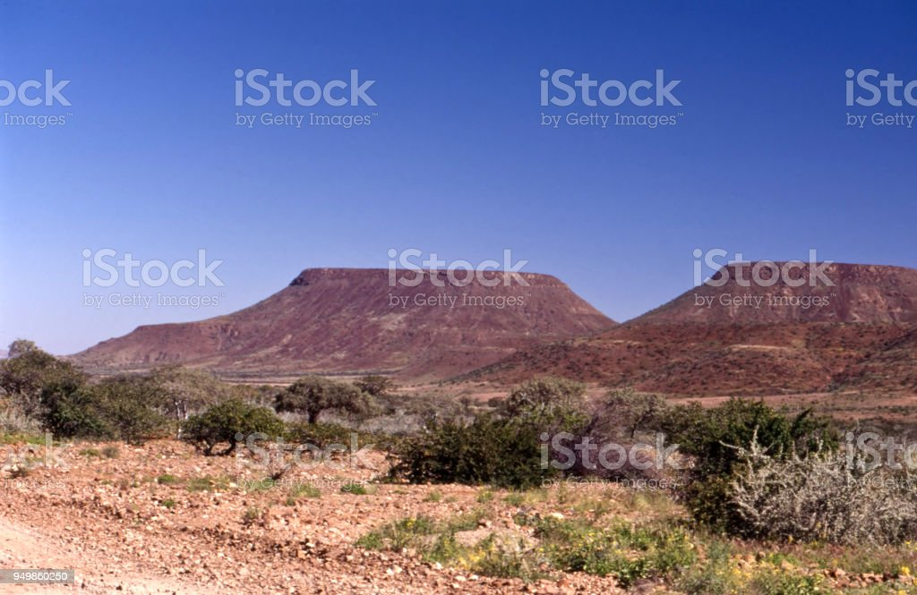 view of kunene region stock photo