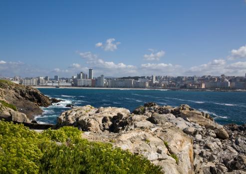 View Of La Coruña Stock Photo & More Pictures of A Coruna - iStock