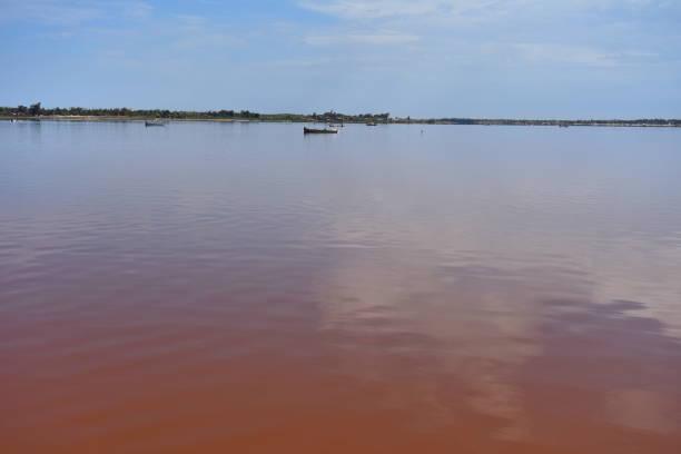 Blick auf den Lac Rose – Foto