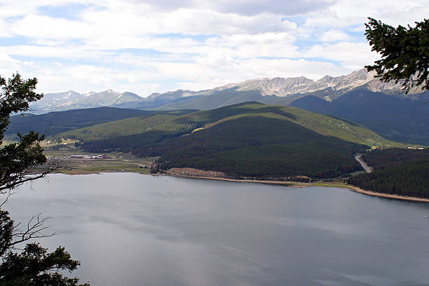 View of Lake Dillon  bunnylady stock pictures, royalty-free photos & images