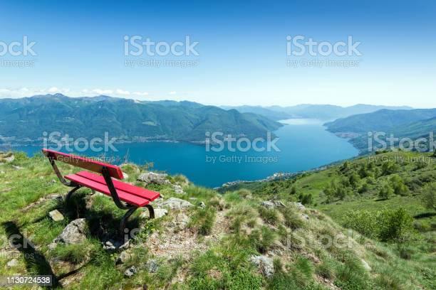 Photo of View of Lake Maggiore, Ticino, Switzerland