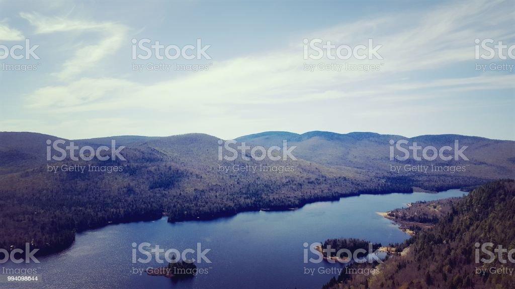 Vue Sur Le Lac Monroe Stock Photo - Download Image Now