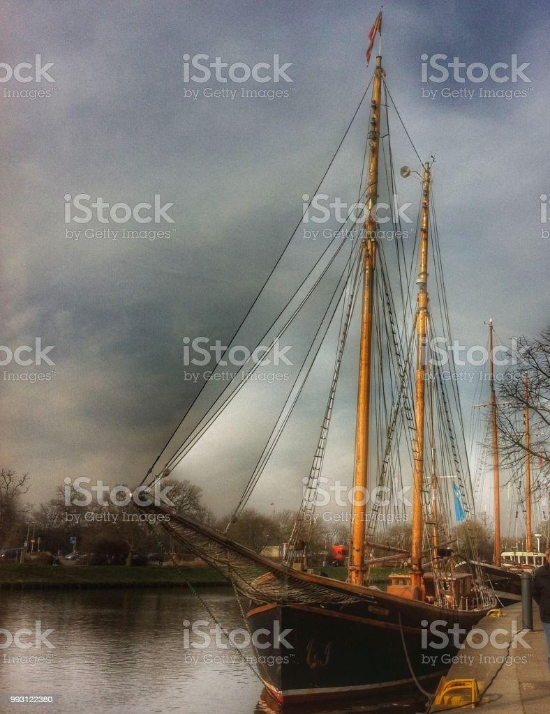 View of Lübeck стоковое фото