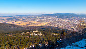 istock View of Liberc city from Jested Mountain, Czech Republic 937910556