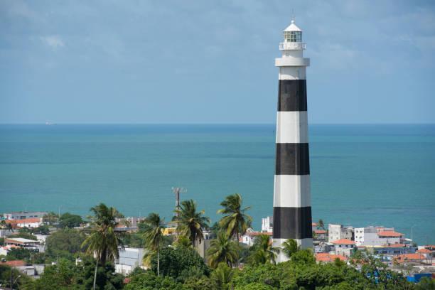 vista do farol na cidade de olinda - pernambuco - brasil - recife e olinda - fotografias e filmes do acervo