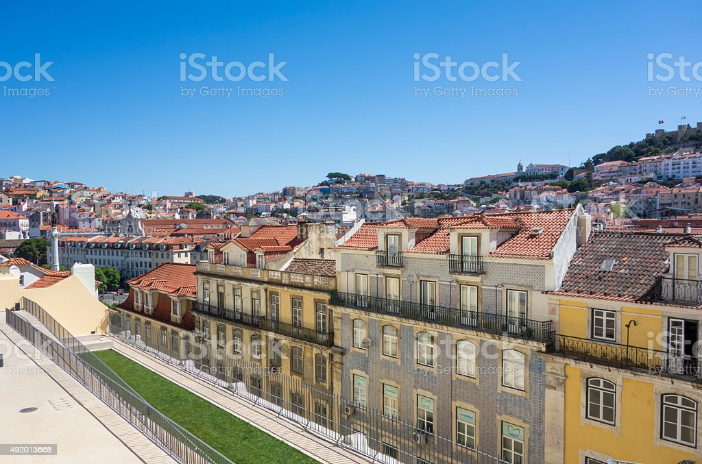 View of lisabon stock photo