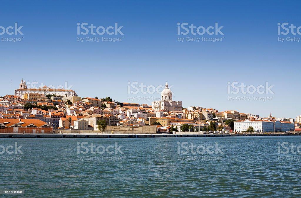 Blick auf Lissabon und den Tajo – Foto