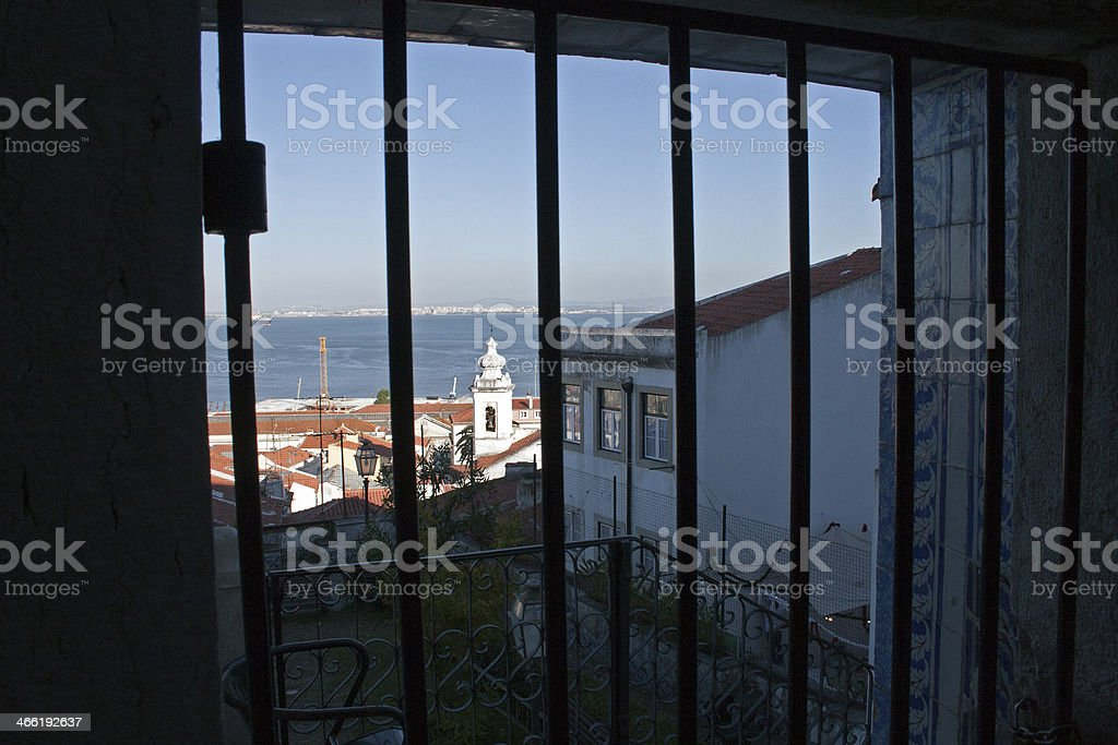 View of Lisbon stock photo