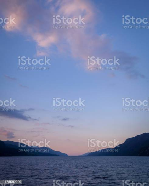 View of loch ness in scotland at twilight with colourful sky picture id1175052229?b=1&k=6&m=1175052229&s=612x612&h=usozwjv5rgghbkyminlscg5mjskgva3b64qhcdl209a=